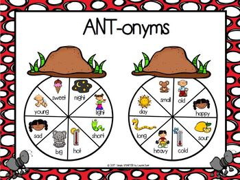 NO PREP Ant Themed Math and Literacy Games Bundle
