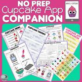 NO PREP App Companion - Cupcake Maker - for Speech and Language