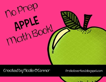 Apple Mini Math Book! (No Prep)