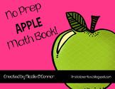 Apple Mini Math Book! (No Prep)