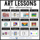 Art History for Elementary Bundle (13 Art Units with Teacher Scripts)