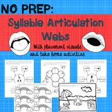 NO PREP: Articulation Syllable Webs with placement visuals