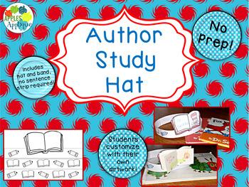 NO PREP Author Study Hat