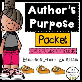 NO PREP Author's Purpose