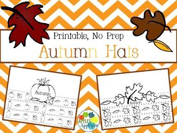 Autumn Hats - NO PREP