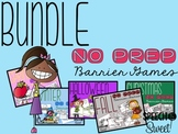 NO PREP Barrier Games: A Speech-Language Therapy Bundle