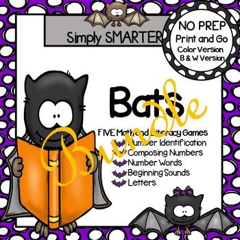 NO PREP Bat Games Bundle