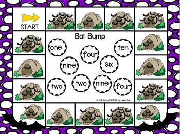 NO PREP Bat Themed Math and Literacy Games Bundle