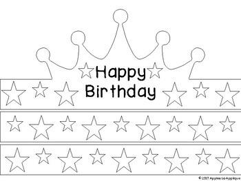 NO PREP Birthday Crown