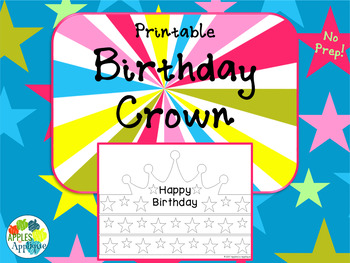 NO PREP Birthday Crown