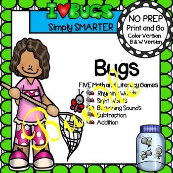 NO PREP Bug Games Bundle