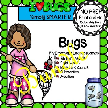 NO PREP Bug Games Bundle