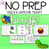 NO PREP Bug-Themed Activities for Speech and Language Therapy!