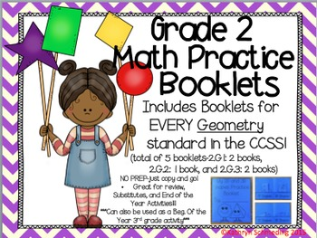NO PREP CCSS Aligned- Interactive Activity Booklets-GEOMETRY
