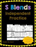 S Blends Independent Practice