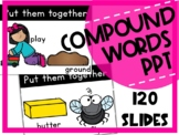 COMPOUND WORDS PowerPoint Phonological Awareness Activitie