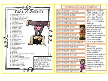 Reading Comprehension for the Year! 80 Response Sheets-Leveled .05-2.9 BUNDLE!