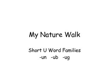 NO PREP Short U CVC Word Sort and Flip Book OR Interactive Notebook
