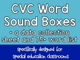 NO PREP CVC Word Work for Special Education Classrooms