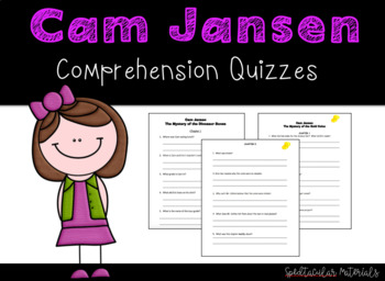 NO PREP Cam Jansen and the Mystery of the Monster Movie Chapter Quizzes