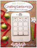 NO PREP Chatting Santa-mojis