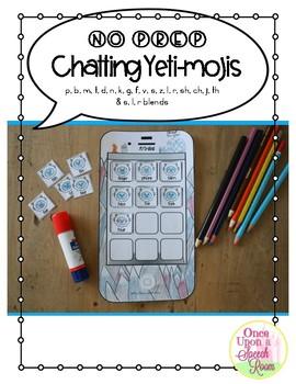NO PREP Chatting Yeti-mojis