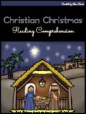 NO PREP Christian Christmas Reading Comprehension