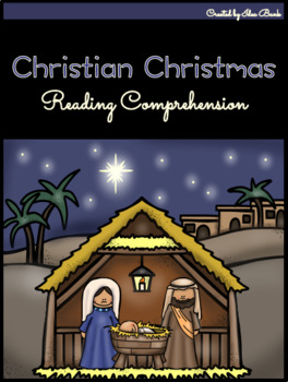 NO PREP Christian Christmas Reading Comprehension