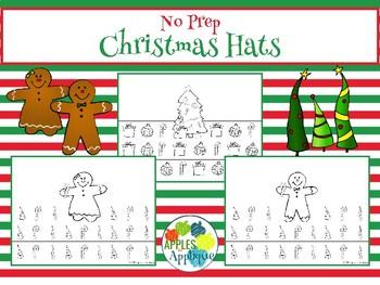 NO PREP Christmas Hats