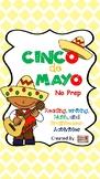 NO PREP! Cinco de Mayo Activity Packet