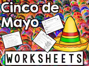 Cinco de Mayo Worksheets