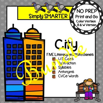 NO PREP City Games Bundle