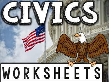 Civics & Government Worksheets & Printables