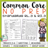 No Prep Reading and Writing: Standard 3 {includes tests an