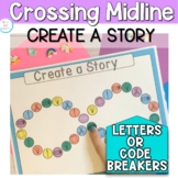 NO PREP Create-A-Story: handwriting practice and crossing midline