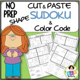 No Prep● Cut and Paste ● Shape Sudoku ● Games ● Puzzles