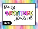 NO PREP Daily Gratitude Journal: Digital & Print Resource
