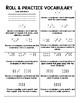 NO PREP - Dice Language Arts Centers - Reading Comprehension, Spelling, Vocab