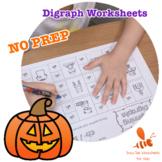 NO PREP Digraph Worksheets 1