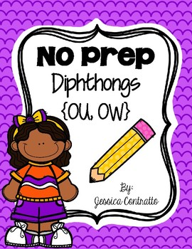 NO PREP Diphthongs OU, OW