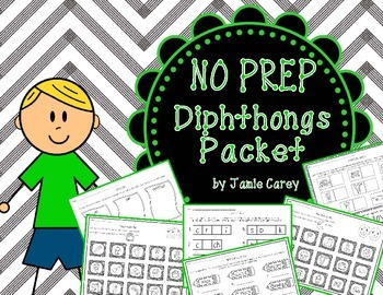 NO PREP Diphthongs Packet