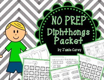 NO PREP Diphthongs Packet