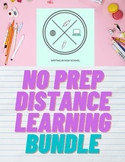 NO PREP Distance Learning Week of Work