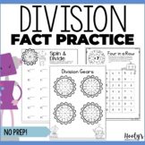 NO PREP Division Fact Practice for Centers