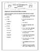 NO PREP Drums Girls and Dangerous Pie Novel Study Vocabulary Activities
