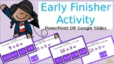 NO PREP-Early finisher math practice