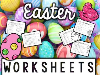 Easter Worksheets & Printables