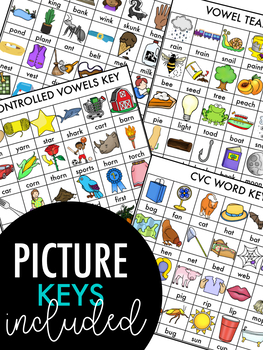 NO PREP End Of The Year Phonics Review