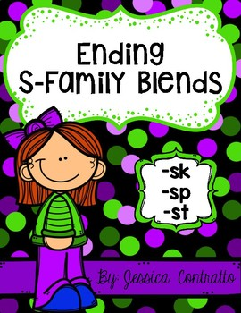 NO PREP Ending S Blends
