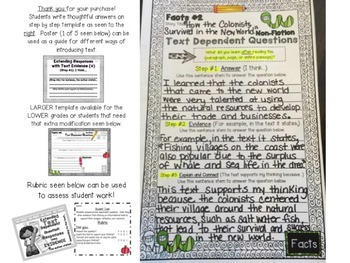 NO PREP: Extending Text Dependent Questions Using Evidence